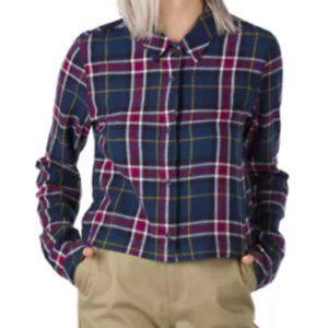 VANS Large Plaid Button up Flannel